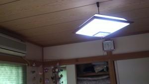家庭用蓄電池の光